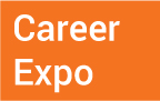 Career Expo text box with link to page and registration