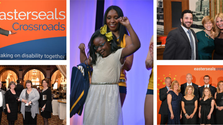 5 images of guests having fun at Celebrate Ability 2017