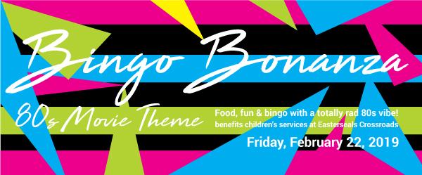 Bingo Bonanza header with text about event