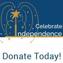 Celebrate Independence link to donate
