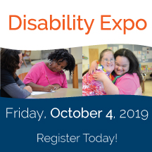 Disability Expo 2019 registration link and image