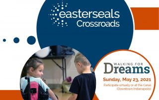 Walking for Dreams. Sunday, May 23, 2021. Participate virtually or at the Canal