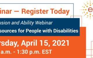 Free Webinar - Register Today. Financial Inclusion and Ability Webinar